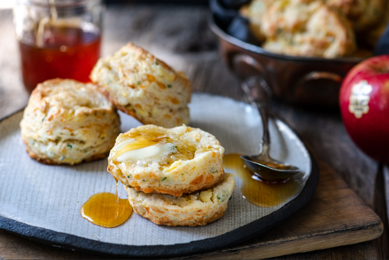 SugarBee Apple Cheddar Biscuits